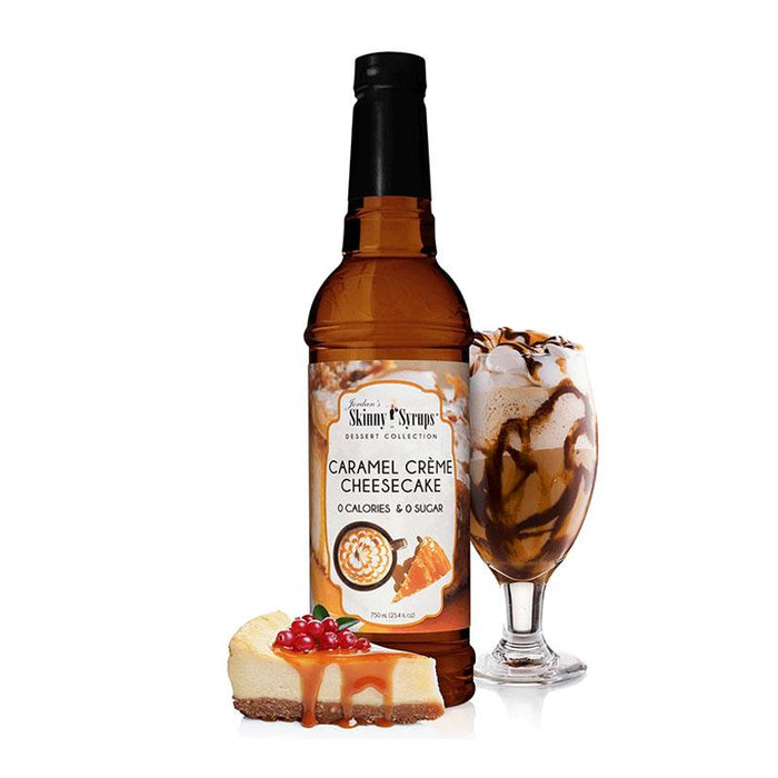 Sugar Free Caramel Creme Cheesecake by Jordan's Skinny Mixes, 25.4 fl oz (750 ml)