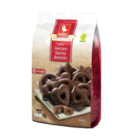 Weiss Dark Chocolate Gingerbread Hearts, 14.1 oz (400 g)