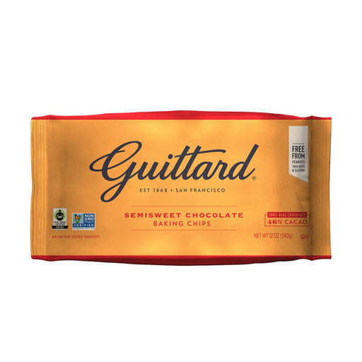 Guittard Semi-Sweet Chocolate Chips for Baking, 12 oz (340 g)