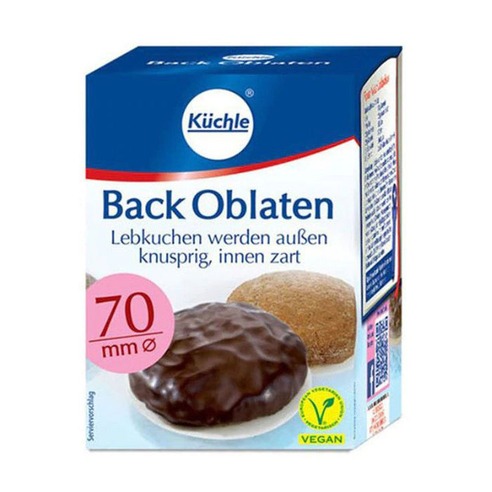 Kuchle Round Baking Wafers Back Oblaten 70mm, 2.5 oz (71 g)