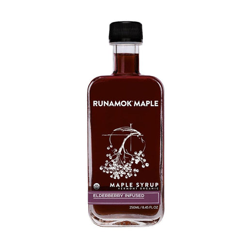 Runamok Maple Elderberry Infused Maple Syrup, 8.45 fl (250 g)