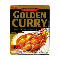 S&B Golden Curry Vegetables, Hot, 8.1 oz (229.6311 g)
