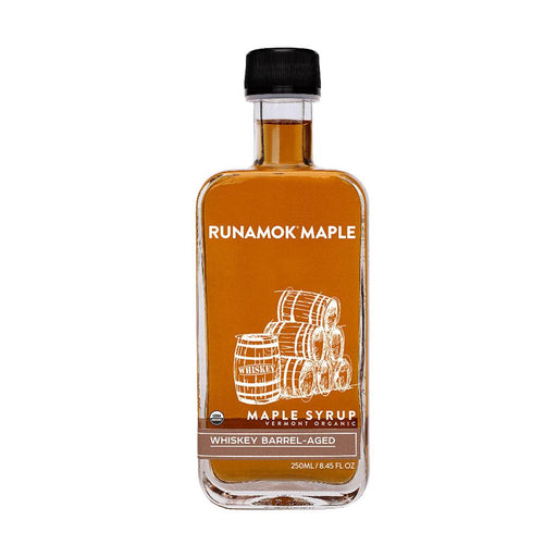 Runamok Maple Whiskey Barrel-Aged Maple Syrup, 8.45 fl (250 g)