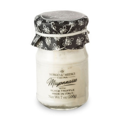 Borgo de Medici Mayonnaise with Black Truffle, 14.1 oz (200 g)