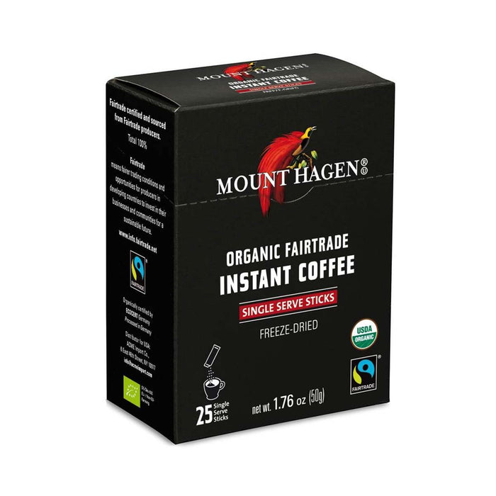 Mount Hagen Organic Fair Trade Instant Coffee, 1.8 oz (50 g)