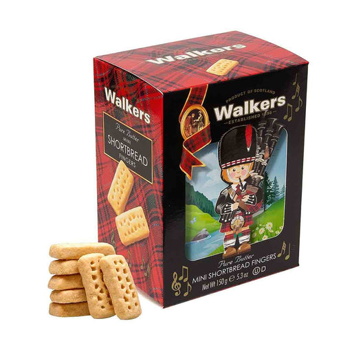 Walkers Mini Fingers Piper Shortbread, 5.3 oz (150 g)