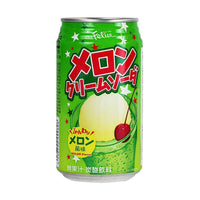 Felice Melon Cream Japanese Soda, 11.8 fl oz (348.926 g)