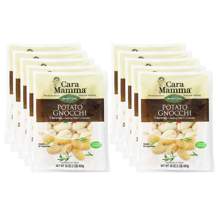 Free Shipping | 12-Pack Mantova Potato Gnocchi (16 oz. x 12)
