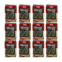 Korean Seasoned Seaweed Lavers 12 Packs by Yangban, 0.1oz x 12