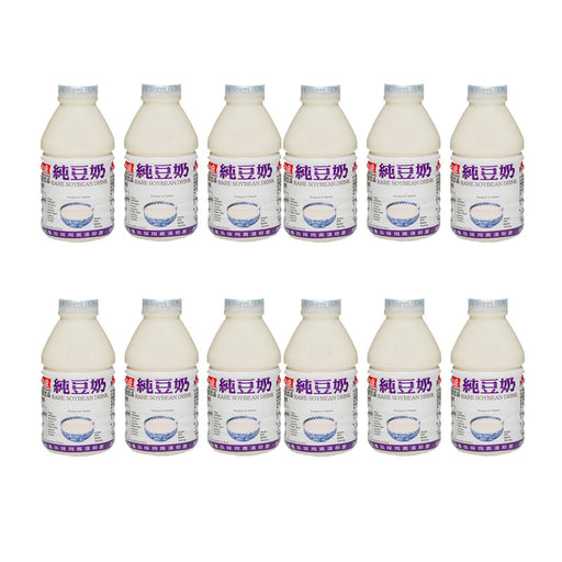 Free Shipping 12-Pack Taiwanese Breakfast Soy Milk, 12 x 11 fl oz (330 ml)