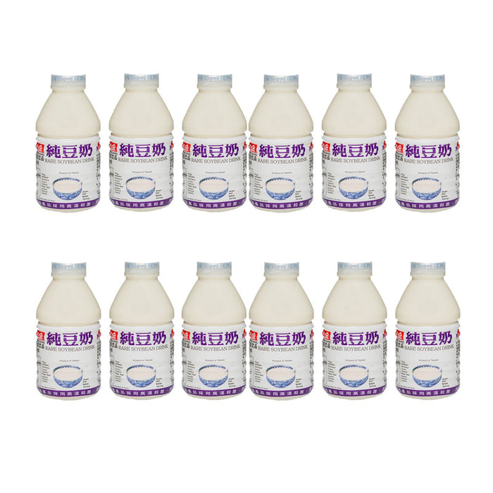 Free Shipping | 12-Pack Taiwanese Breakfast Soy Milk, 12 x 11 fl oz (330 ml)
