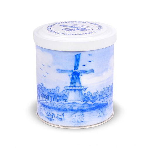 Wilhelmina Peppermint Delft Blue Tin, 1.1 lb (0.498 kg)