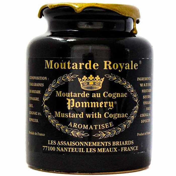 17.6 oz Pommery Royal Mustard with Cognac (500g)