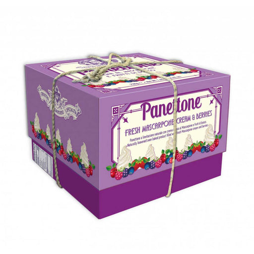 Chiostro di Saronno Panettone with Mascarpone and Wood Berries, 26.5 oz (750 g)