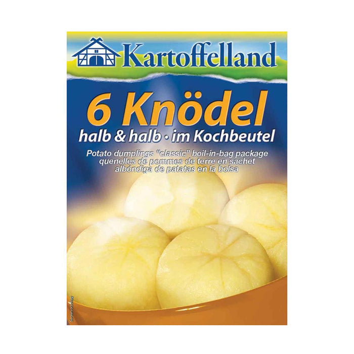 Kartoffelland 6 Half and Half Dumplings, 7.6 oz (215 g)