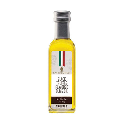 Savini Tartufi Black Truffle Flavored Olive Oil, 1.9 fl oz (55 ml)
