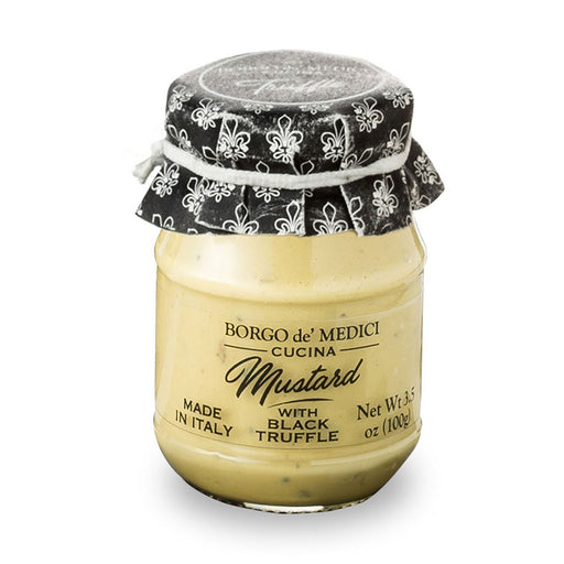 Borgo de Medici Mustard with Black Truffle, 7.1 oz (100 g)