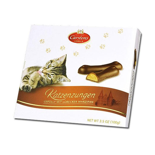 Marzipan Cat Tongues by Carstens, 3.5 oz (100 g)