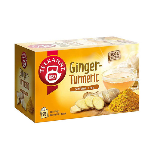 Teekanne Ginger Turmeric Tea, 20 Ct, 1.2 oz (35 g)