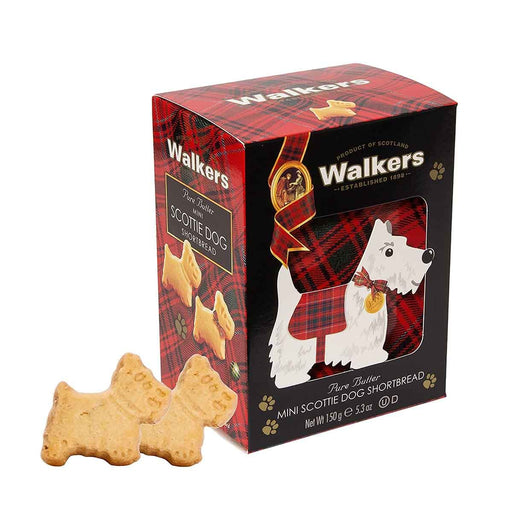 Walkers Mini Scottie Dog Shortbread, 5.3 oz (150 g)