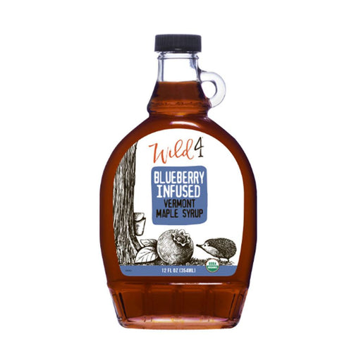 Wild4 Blueberry Infused Maple Syrup, 8 fl (237 g)