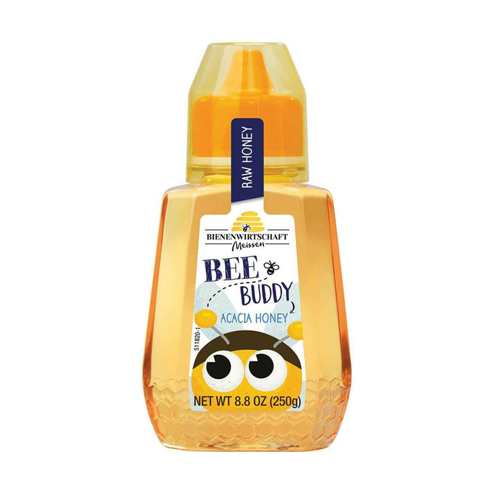 Bee Buddy Acacia Honey by Bienenwirtschaft, 8.8 oz (250 g)