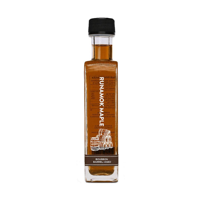 Runamok Maple Bourbon Barrel-Aged Maple Syrup, 8.45 fl (250 g)