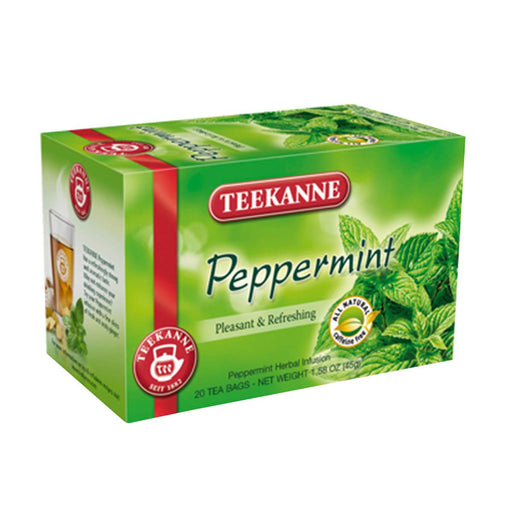 Teekanne Peppermint Tea, 20 Ct, 1.6 oz (45 g)