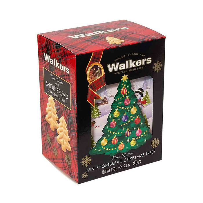 Walkers Christmas Tree Shortbread, 5.3 oz (150 g)