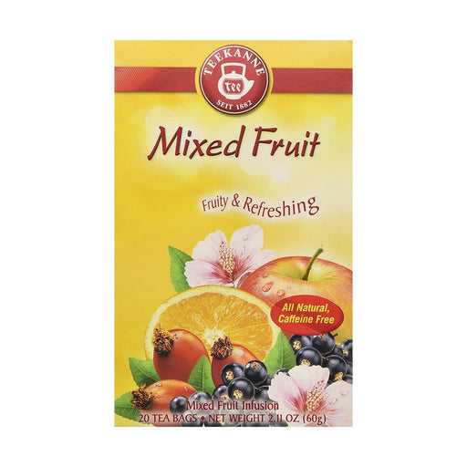 Teekanne Mixed Fruit Tea, 20 Ct, 2.1 oz (60 g)