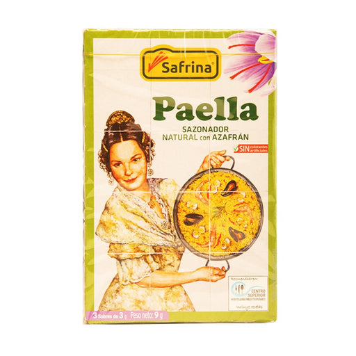 Triselecta Paella Seasoning with Saffron, 0.3 oz (9 g)