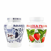 Fabbri Set - 1 Amarena Cherries 21 Oz + 1 Wild Strawberries 21 Oz