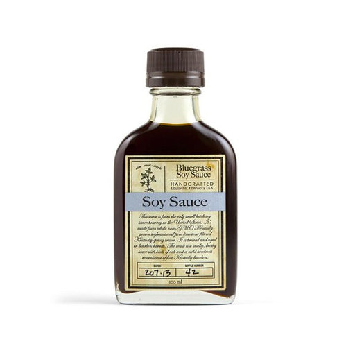 Bourbon Barrel Bluegrass Microbrewed Soy Sauce, 3.4 fl oz (100 ml)