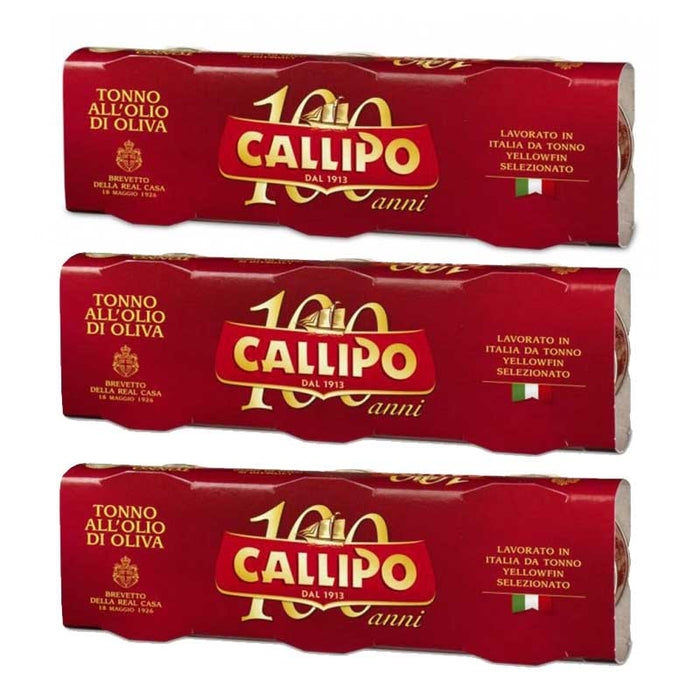 FREE Shipping | Callipo Tuna in Olive Oil (2.8 oz x 9 cans)