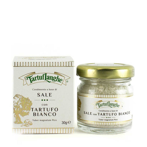 Tartuflanghe Guerande Grey Salt with White Truffle, 1.1 oz (30 g)