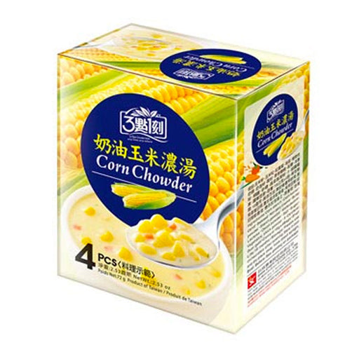 3:15 PM Corn Chowder Instant Soup Mix, 2.5 oz. (72g)