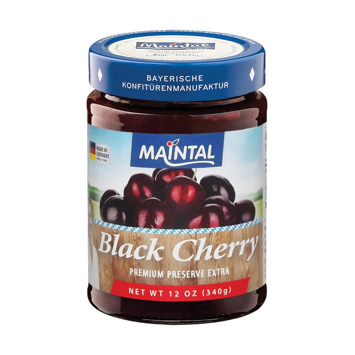 Maintal Black Cherry Jam, 12 oz (340 g)