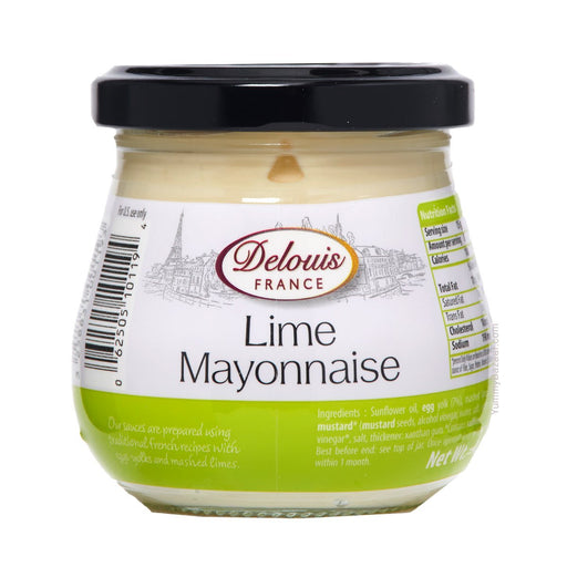 Delouis Lime Mayonnaise, 4.4 oz (125 g)