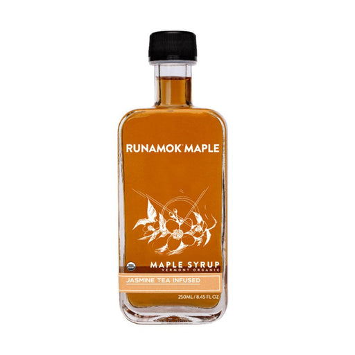 Runamok Maple Jasmine Tea Infused Maple Syrup, 8.45 fl (250 g)