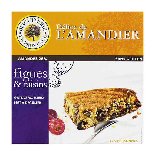 Biscuiterie de Provence Almond, Figs and Raisins Cake, 8.47 oz (240g)
