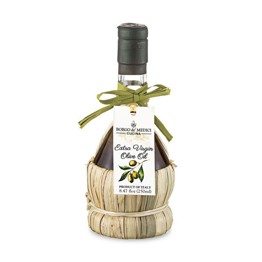 Borgo de Medici Extra Virgin Olive Oil in Fiasco Bottle, 8.5 fl oz (250 ml)
