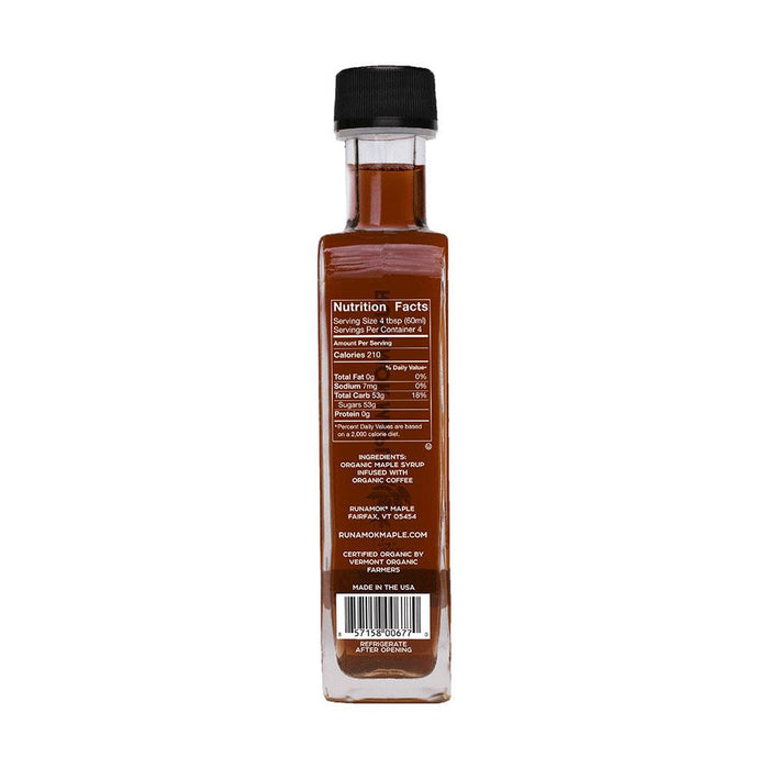 Runamok Maple Coffee Infused Maple Syrup, 8.45 fl (250 g)