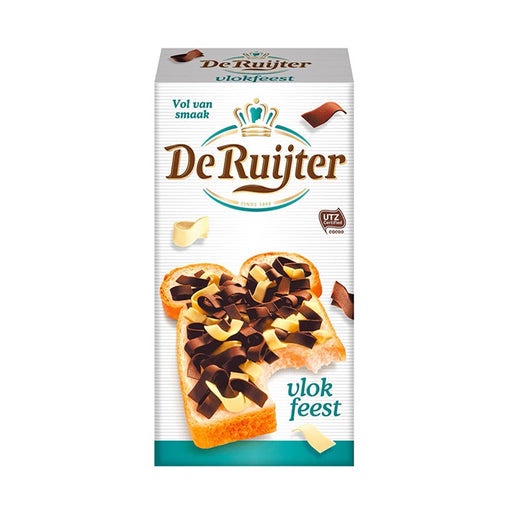 De Ruijter Mixed Flakes Dark and White, 10.5 oz (298 g)