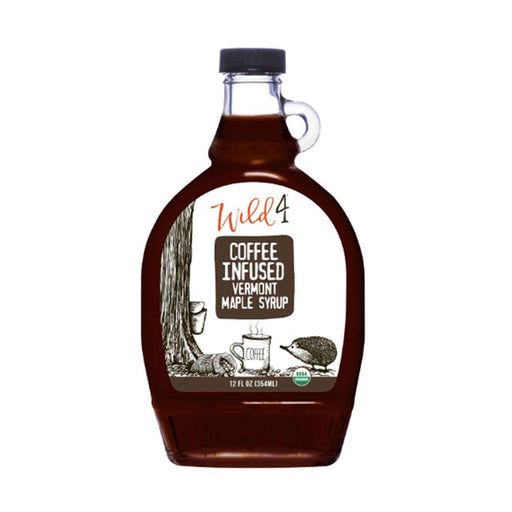 Wild4 Coffee Infused Maple Syrup, 8 fl (237 g)