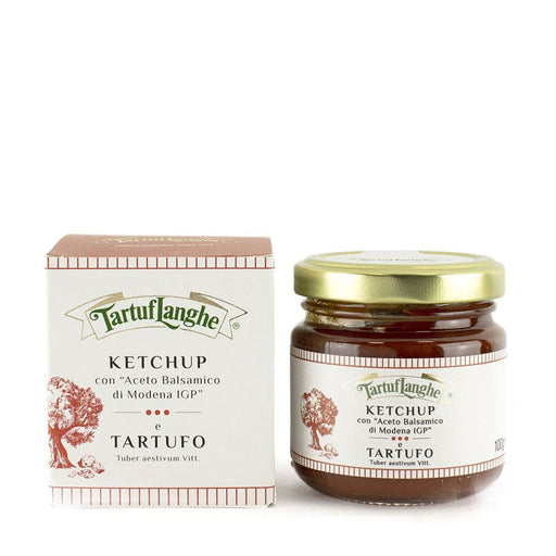Tartuflanghe Truffle Ketchup with Balsamic Vinegar of Modena IGP, 3.5 oz (100 g)