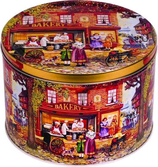 Bakery Shop Assorted Cookie - Tin by Jacobsens, 2.2 lb (1000 g)