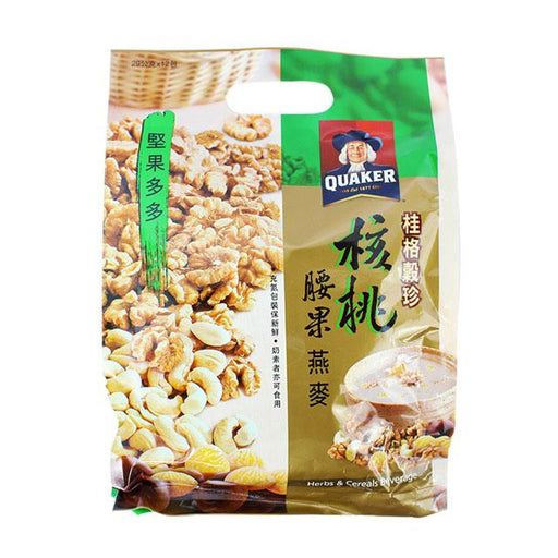Quaker Walnut Cashew Oats, 348.0 g (12.3 oz)