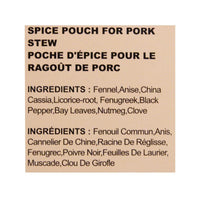 Spice Mix for Taiwanese Pork Stew by Tomax, 1.27 oz (36 g)