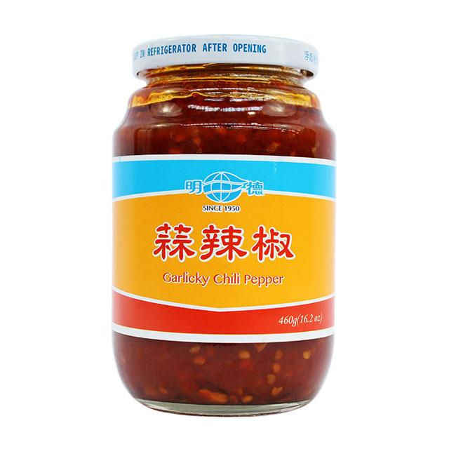 Chili Sauce with Garlic by Ming Teh, 460.0 g (16.2 oz)