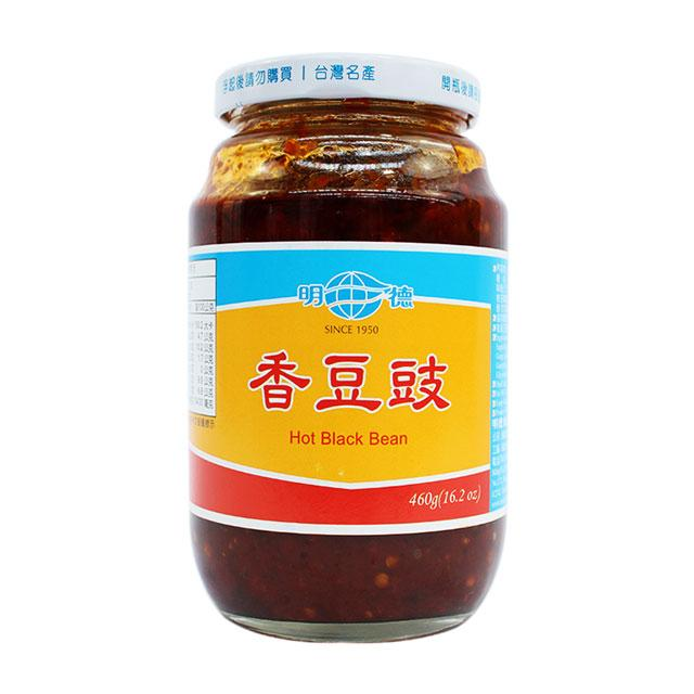 Spicy Black Bean Sauce by Ming Teh, 460.0 g (16.2 oz)
